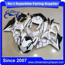FFKSU011 China Fairings Motorcycle For GSXR1000 2009-2014 White Corona Race