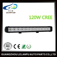 Hot selling led head lamp led light for car vehicle truck tractor 120W 20.6 inch single row led light bar
