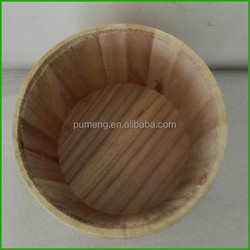 Handicraft Wooden Buckets For Sale