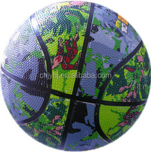 Contemporary Cheapest rubber leather basketball balls