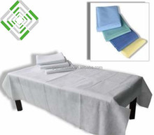 PP nonwoven disposable hospital surgical bed sheet sale in roll or pieces