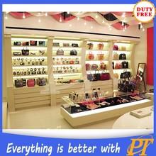 Wallet display rack and handbag wall displays for bag store