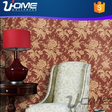 u-home colorful flower modern waterproof wallpaper for home decoration also bedroom walls can use
