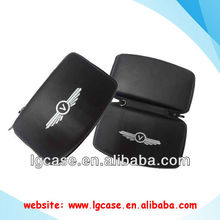 Portable 3.5 inch internal hard disk case with pu leather surface