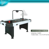 Air Powered Hockey Table with Electroic scorer