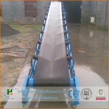 hot sale rubber belt conveyor for sand