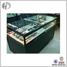 Jewelry clear locking display cabinet base for display in shop