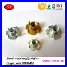 China custom furniture connecting fitting,brass screw/connectors