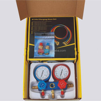 manifold gauge with cover for R134a