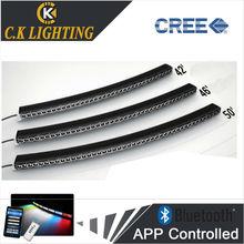 DIY design 50'' led light bar led headlights off road light bar