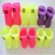 Creative products pet shoes / silicone dog rain boot