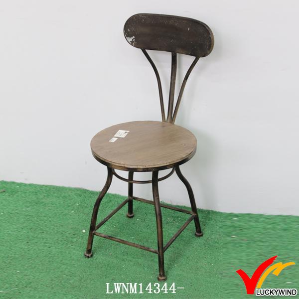 vintage style solide cuisine en bois m tal tabouret de bar chaise chaises en m tal id de produit. Black Bedroom Furniture Sets. Home Design Ideas