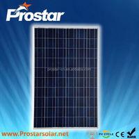 Prostar 1kw solar system by poly 100w solar panels