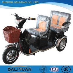 china cargo tricycle with cabin with passenger seat