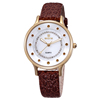2015 Hot Sale Shining Stone Shell Dial multiple strap watch