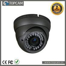 "1/3"" Sony 960H Exview CCD 800TVL Vandalproof IR Dome Camera With 2.8-12mm Megapixel varifocal Lens"