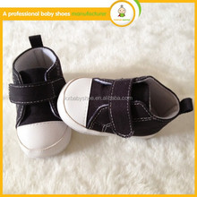 baby shoes manufacturers china comfortable baby kids wholesale simple black canvas shoes