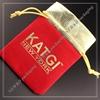 Newest fashion mall red velvet christmas santa sack drawstring gift bag
