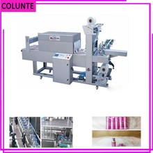 heat shrink sleeve packing machine optic fiber for bottled liquid with labelling