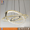 SMD led chandelier/modern stainless steel crystal chandelier cheap