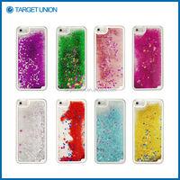 Fashionable Drift sand bling case for iPhone 5 liquid glitter star case moving glitter case for iphone 5