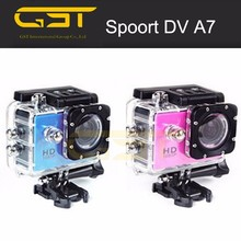Stylish low cost Listing Private Design Sports Camera 60meters Waterproof