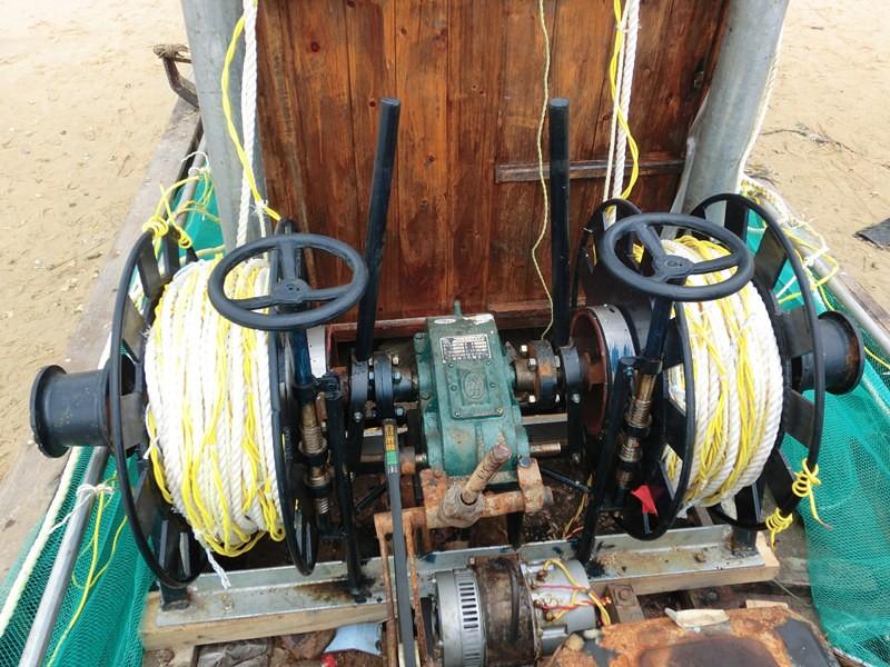 Fishing Boat Hydraulic Fishing Net Hauler For Fishing