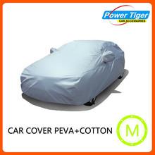 Folding silver PEVA sun Car Cover