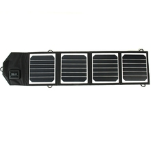 14W High Efficiency Solar Charger Portable Folding Solar Panel Charger Bag for Samsung / HTC / Nokia / Mobile Phones