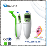 Accurate Fever Alarming Portable Color LCD Screen Infrared Ear Temperature Thermometer/Thermograph