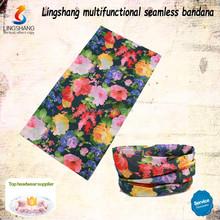 Fashion wholesale girl dresses scarf custom multifunctional bandana neck scarves