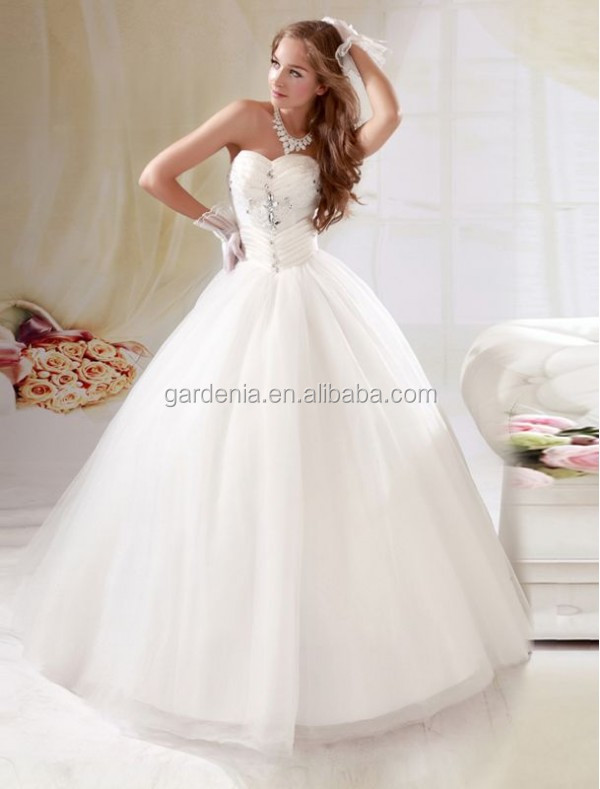 Wedding Dresses Strapless And Puffy - Wedding Dress Shops