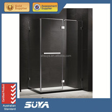 Shanghai SUYA frameless sliding shower screen