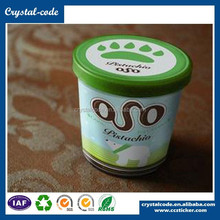 accept order frozen self adhesive hot sale freezer wholesale price PP synthetic cold food packing label