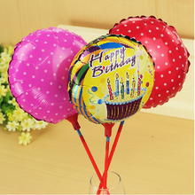 party decoration use inflatable round balloons foil material