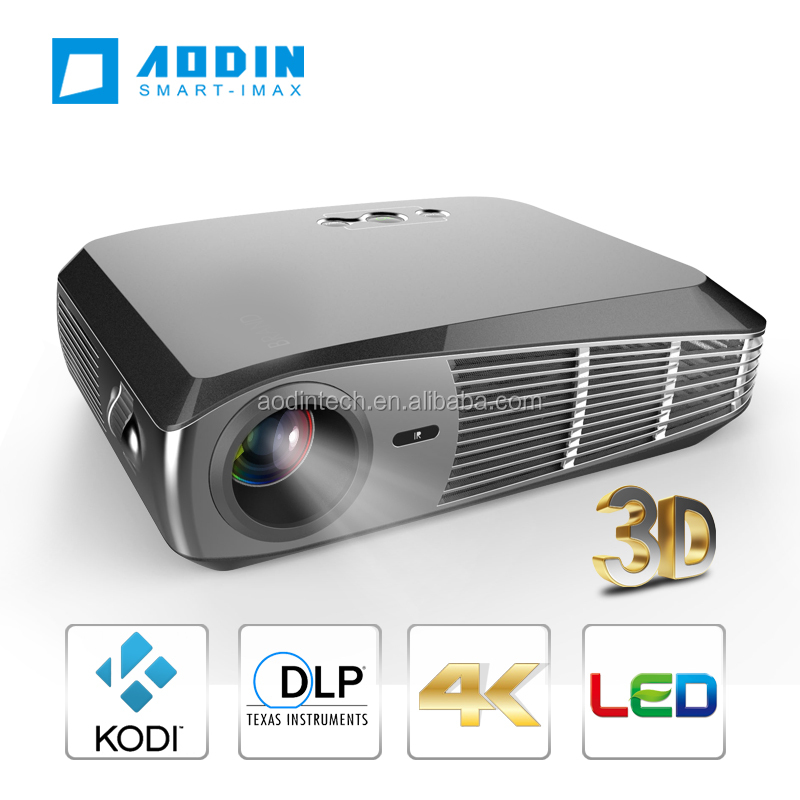 4k Full Hd Smart Video Projector With Led Lamp 3500lm