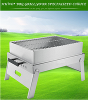 Good Quality Outdoor Stainless Steel for table top used NEW Style Stainless Steel Garden Used BBQ Grill