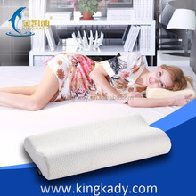 2015 New Healthy Memory Foam adult wave shaped spa hotel life Pillow,Super Soft Plush bed sleep Cushion