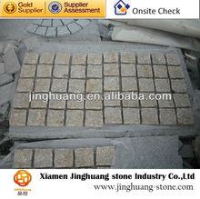 Yellow granite pavers & paving stone