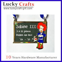 Free Sample Die Cast Medals / Zinc Medal Casting / Medal Badge Wholesale