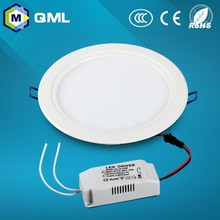 Factory direct sale round led flat panel lighting 3w to 18w for house using