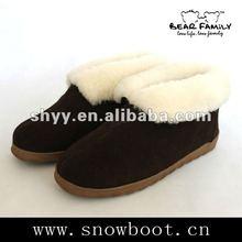 Winter loafer shoes new designer snow boots for men