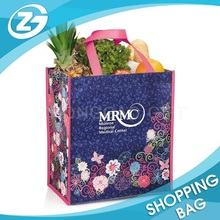 Factory Hot Sale Eco Foldable High Quality Promotional Printed Reusable Colorful Custom Non Woven Shopping Bag