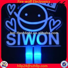 2014 new arrival led glow pen with flashing pen for party/concert China led glow stick manufacture & supplier
