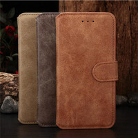 Leather wallet for iphone 6 case with business card holder