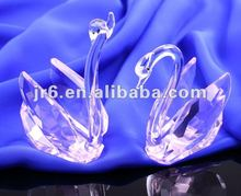 crystal swan for take way wedding gifts