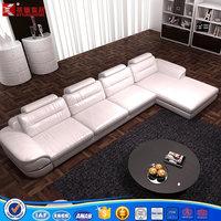 European style genuine leather sofa