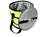 Polyester portable foldable round cooler bag