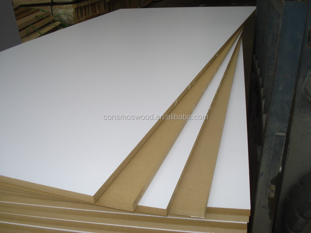 Waterproof melamine mdf board mm d from linyi