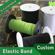 synthetic transparent blue color rubber bands
